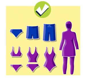 accepted swimwear